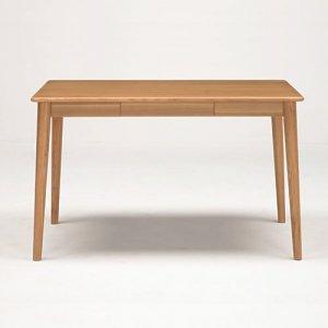 サライ 4人掛ダイニングテーブル(ナチュラル色 幅115奥行70高さ70)