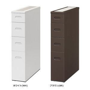 キッチン隙間ストッカー スリム16(幅16奥行55高さ80cm)