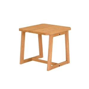 コーナーテーブル/リベラルUYB(浮造り仕上 幅60x奥行60x高さ55)