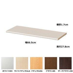 エースラック/カラーラックタフ棚板仕様 追加固定棚(規格サイズ 幅70.2用)
