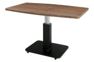 リフトテーブル(幅120x奥行75高さ52-70cm)/ガスシリンダー昇降式