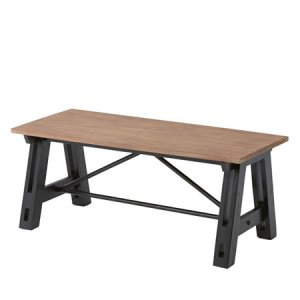 天然木ミンディ コーヒーテーブル(幅100奥行45高さ40cm)
