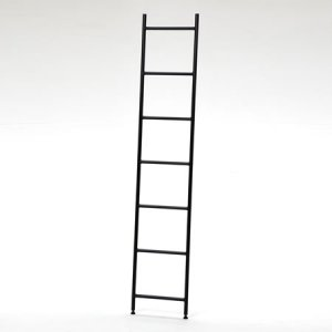 アイアン ラダーラック(ブラック/幅39x奥行2.8x高さ200)