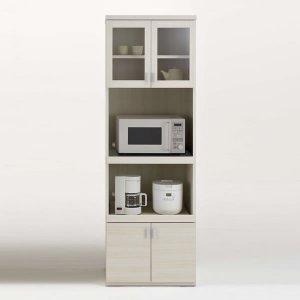 フナモコ キッチンレンジボード SKS-61R/スマートキッチンSK(幅60.2x奥行44.5x高さ180cm/ホワイトウッド)