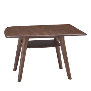 M's ブラウン/ナチュラル LDテーブル1100 リビングダイニング(幅110x奥行110x高さ65cm)