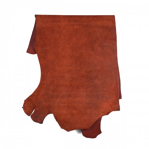 HORWEEN LEATHER COMPANY CALICO SUEDE RUST