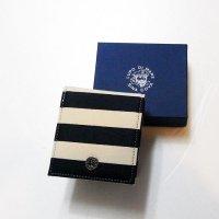 20176530 8号帆布と牛革の折り財布