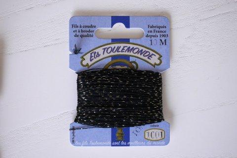 TONKIN刺繍糸#1001_Black フランス製