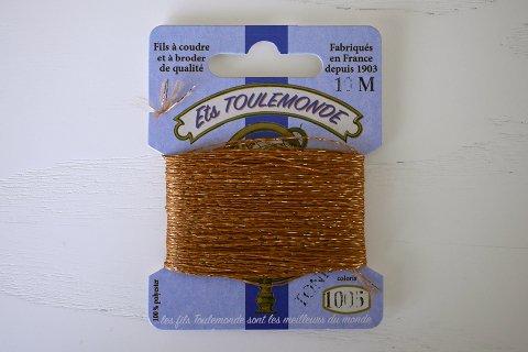 TONKIN刺繍糸#1005_Chesnut フランス製