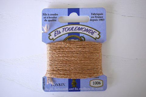 TONKIN刺繍糸#1006_Sand フランス製