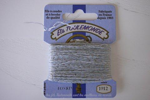 TONKIN刺繍糸#1012_Grey フランス製