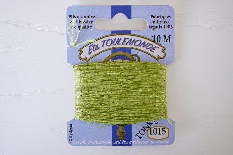 TONKIN刺繍糸#1015_Lime Green フランス製