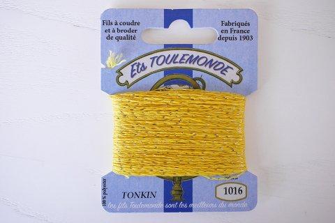 TONKIN刺繍糸#1016_Yellow フランス製