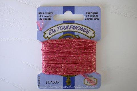 TONKIN刺繍糸#1022_Old Rose フランス製