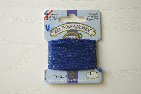 TONKIN刺繍糸#1024_Navy Blue フランス製