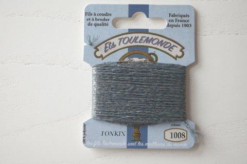 TONKIN刺繍糸#1008_Slate Grey フランス製