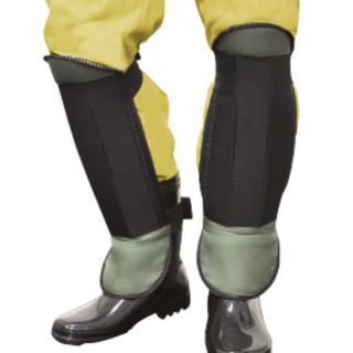 【草刈り作業に最適!】草刈りすねガード 厚みのあるガード板 スネ、足の甲まで保護 G-400