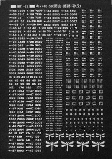 【N】TTL801-22A キハ40・58(岡山・姫路・砂丘) 白