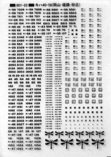 【N】TTL801-22B キハ40・58(岡山・姫路・砂丘) 黒