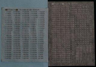 【N】TTL801-71S 14・24系(はまなす・北斗星)標記セット