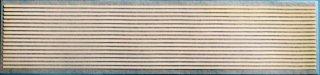 【N】TTL861-43A 1ミリ幅白帯