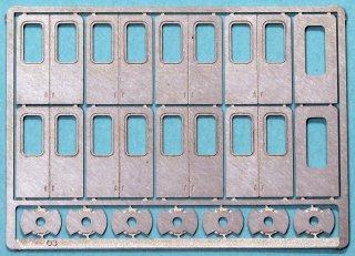 【N】TTP203-03 国電用側扉 Hゴム表現