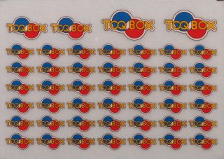 TTL8033-02 【1/80】TOQ-BOXロゴマーク