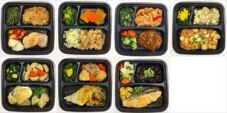 【やわらか食 Aセット】冷凍弁当 日替わり7食 1食あたり 660円(税別)
