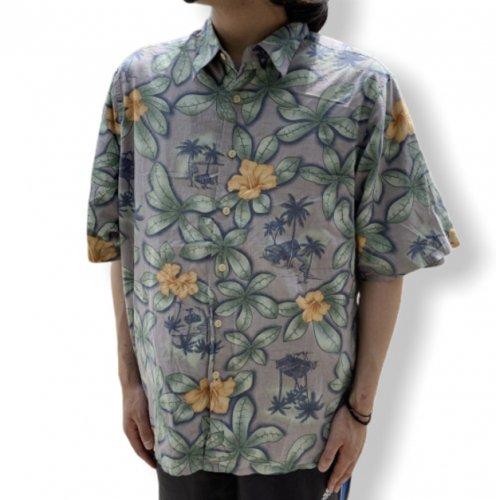 【古着/USED】Reyn Spooner S/S COTTON ALOHA Shirt  レインスプーナー アロハシャツ 半袖シャツ