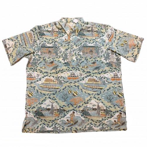 【古着/USED】 90's DIETRICH VAREZ COLLECTIOIN REYN SPOONER S/S Pullover ALOHA Shirt  レインスプーナー アロハシャツ XXL