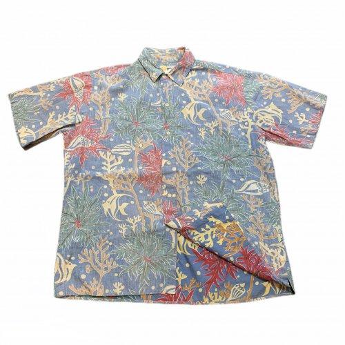 【古着/USED】80's Reyn Spooner S/S ALOHA Shirt  レインスプーナー アロハシャツ 半袖シャツ