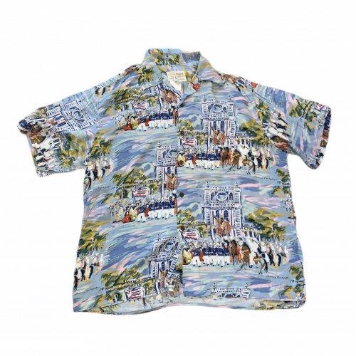 【古着/USED】Guy Buffet × REYN SPOONER S/S Pullover ALOHA Shirt  レインスプーナー アロハシャツ M