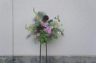 Flower stand arrangement #1