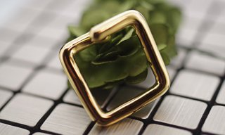 Ear Cuff Ring Square