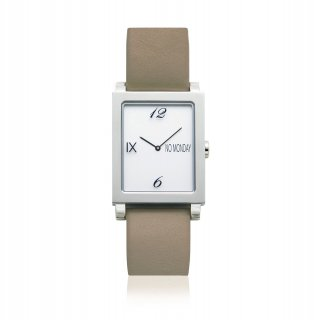 ATAES Silver&Beige NM-56182 39×32mm