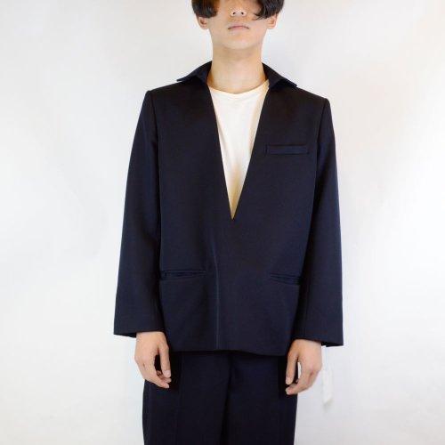 【MEN's 】CINOH【チノ】プルオーバーVネックジャケット