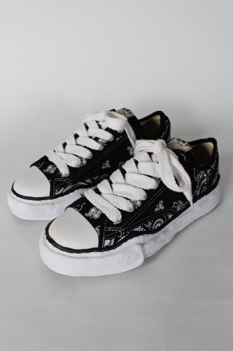Maison MIHARA YASUHIRO 【メゾンミハラヤスヒロ】original sole bandana printed canvas lowcut sneaker/ A06FW732