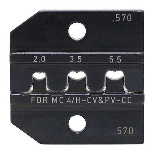ソーラー端子(MC4)用圧着ペンチ PEW12.570