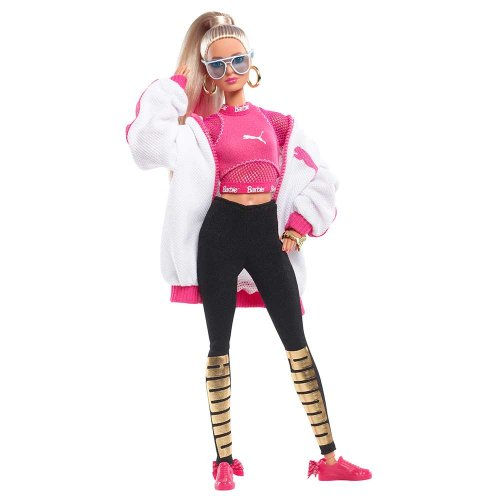 <img class='new_mark_img1' src='//img.shop-pro.jp/img/new/icons11.gif' style='border:none;display:inline;margin:0px;padding:0px;width:auto;' />Barbie Puma Doll DWF59 BA