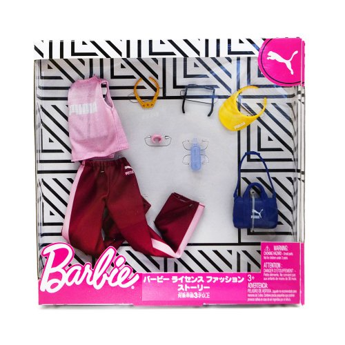 BARBIE LICENSED FASHION STORYTELLING PACK 2 GJG30 BA