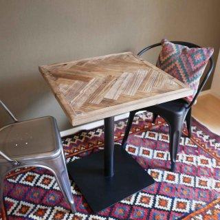 毎日がカフェ気分<br>カフェテーブル<br>W60×D60×H72cm<br>【送料無料】