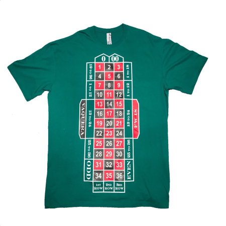 ROULETTE TABLE TALL TEE