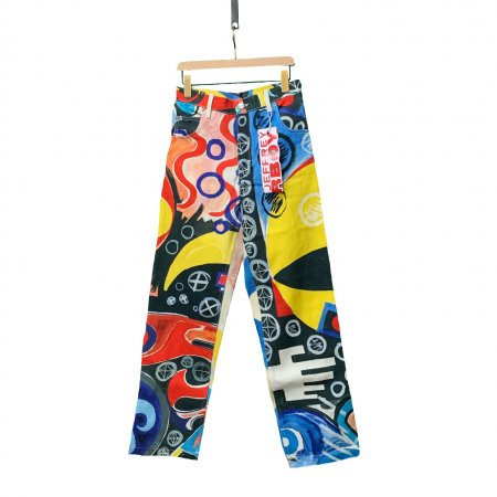 ART DENIM PANTS