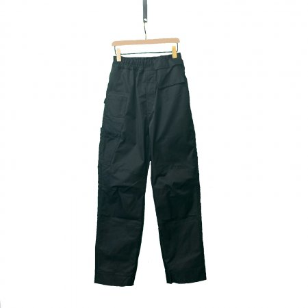 Long Cut Trousers With Elastic Waistband