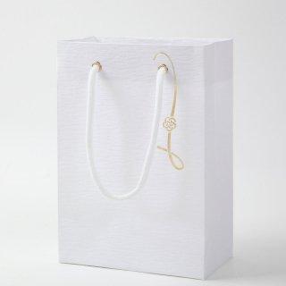 和風バッグ 金梅結び プチギフト用バッグ 和紙加工