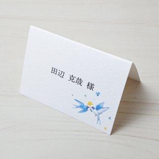 席札 印刷込み【 空のパーティー 】