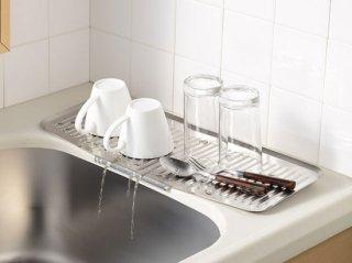 水が切れるちょい置きトレー スリム 【レイエ】 LS1540