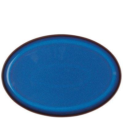 Imperial Blue  インペリアルブルー オーバルトレイ27cm