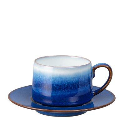 Blue Haze  ブルーヘイズ カップ&ソーサー 250ml