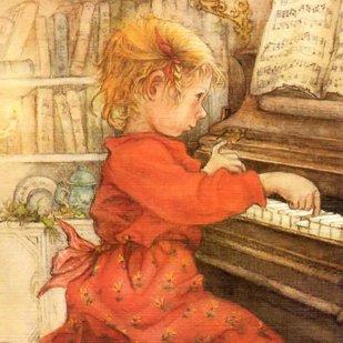 ピアノのお稽古<br>(カードのみ6枚)